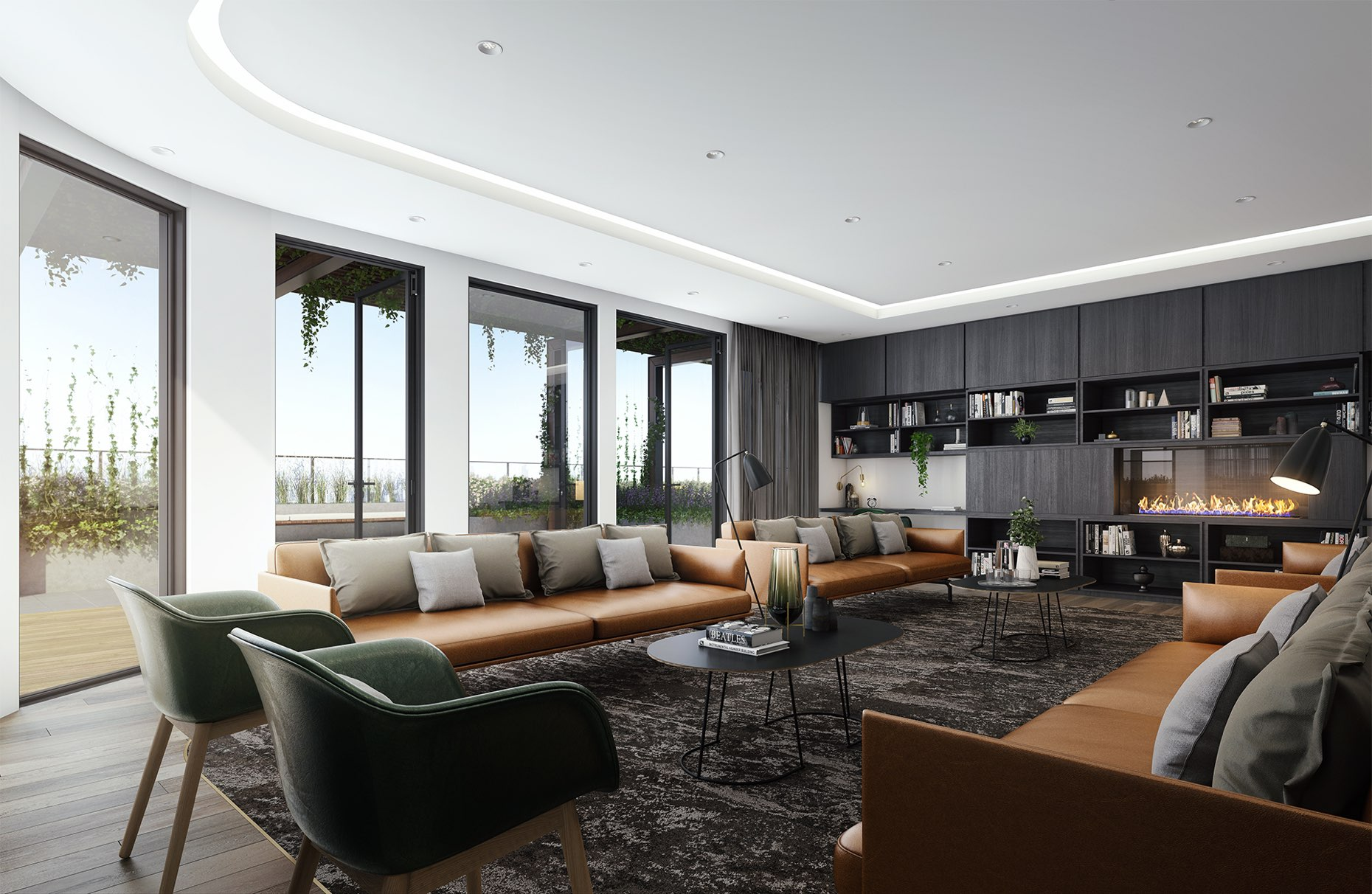 Liberty-One-Render-Footscray-IA02-Rooftop-Common-Area-Lounge